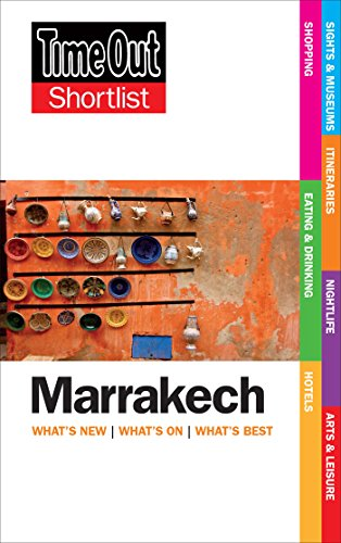 Shortlist Marrakech 2nd edition (Time Out Shortlist): Time Out Guides Ltd