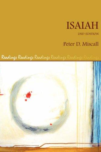 Isaiah: Peter D. Quinn-Miscall
