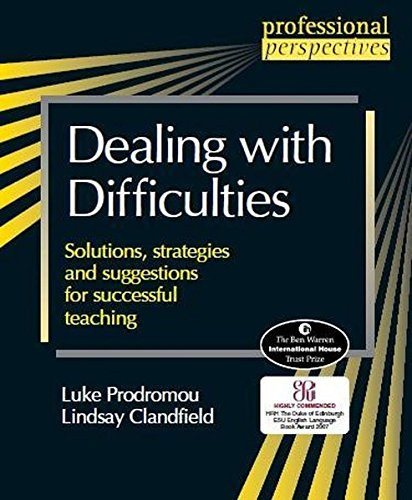 9781905085002: Professional Perspectives: Dealing with Difficulties