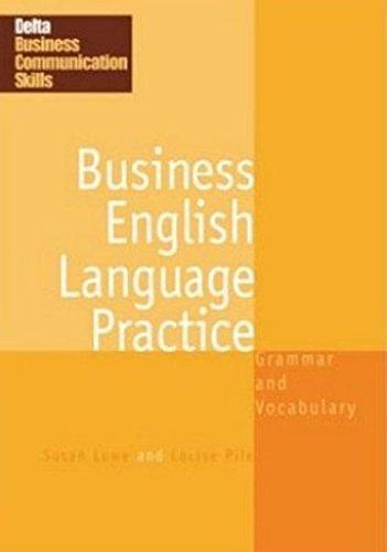 9781905085293: Business English Language Practice: Grammar and Vocabulary (DELTA Business Communication Skills)