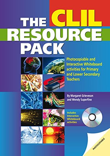 THE CLIL RESOURCE BOOK + IWB (Mixed media product): Margaret Grieveson