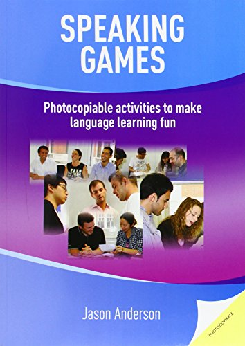 9781905085989: Speaking Games: Photocopiable Activities to Make Language Learning Fun