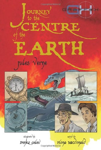 """Jules Verne's """" Journey to the Centre of the Earth """" (Graffex) (Graffex) (1905087985) by Verne, Jules; MacDonald, Fiona"""