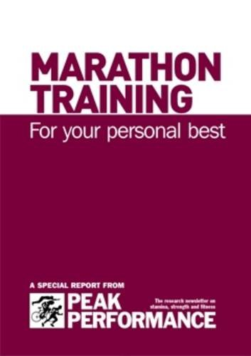 9781905096046: Marathon Training: for Your Personal Best