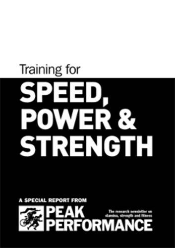 9781905096084: Training for Speed, Power and Strength