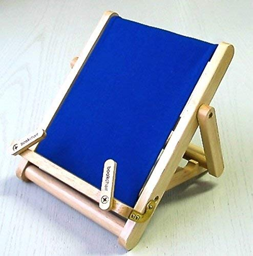 9781905107056: Thinking Gifts Bookchair Deluxe Bookholder, Medium, Blue, 1 unit (BCD2A)