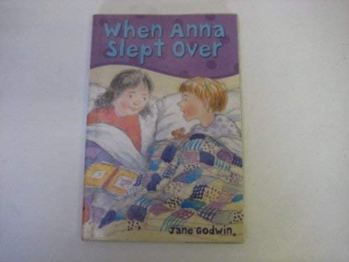 9781905117253: When Anna Slept Over (Happy Cat First Reader)