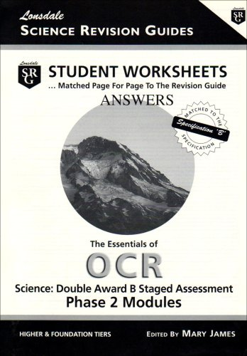 9781905129041: The Essentials of OCR Science: Phase 2: Student Worksheets - Answer Book