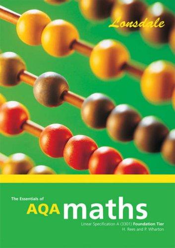 9781905129140: GCSE AQA Maths F/L: Foundation Level (Essentials of GCSE AQA Maths)