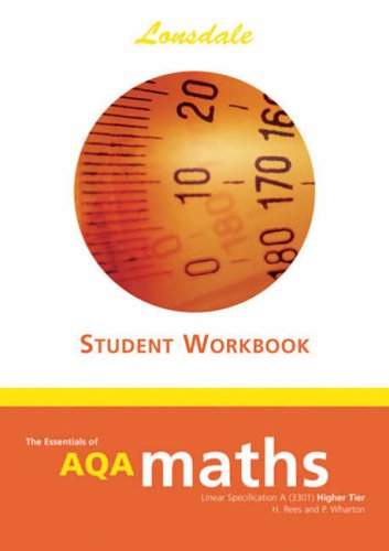 9781905129157: GCSE AQA Maths Workbook H/L: Higher Level (Essentials of GCSE AQA Maths)