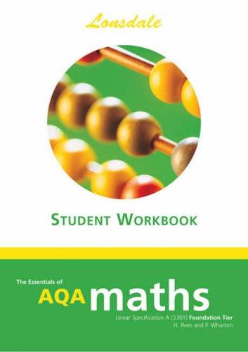9781905129171: GCSE AQA Maths F/L Workbook (Essentials of GCSE AQA Maths)