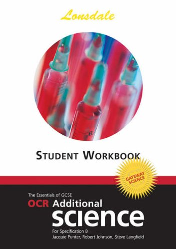 OCR Gateway Additional Science: Workbook (2012 Exams: Jaqui Punter and