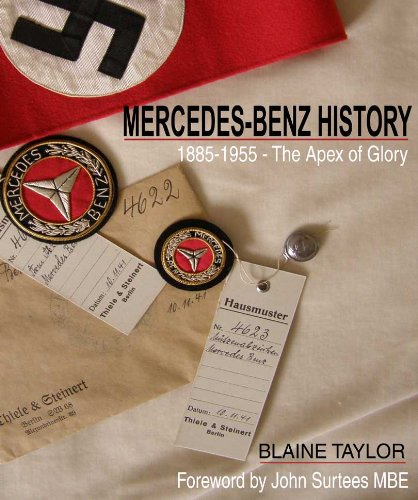 9781905142064: Mercedes Benz History 1885-1955: The Apex of Glory: Benz, Daimler and Mercedes-Benz 1885-1995