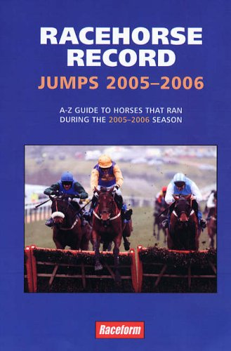 Racehorse Record Jumps 2005-2006: Rumney, Ashley