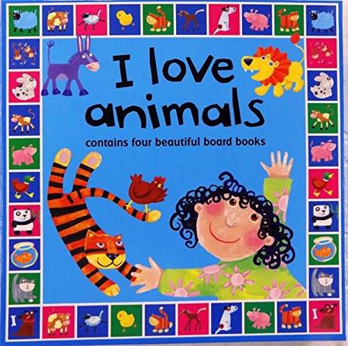 I Love Animals 4-Board Book Boxed Set! Gift: n/a