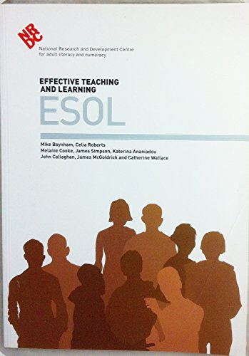 Effective Teaching and Learning - ESOL: Simpson, James, Ananiadou,
