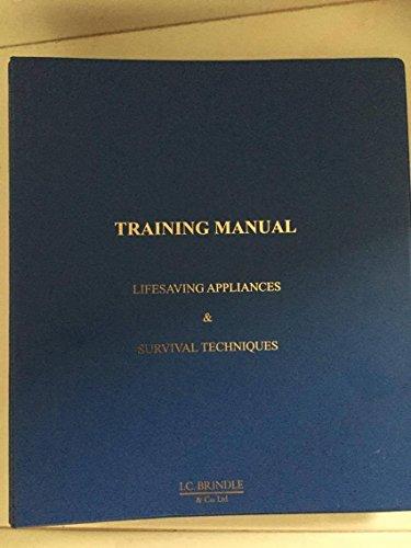 9781905195053: SOLAS Training Manual: Lifesaving Appliances & Survival Techniques