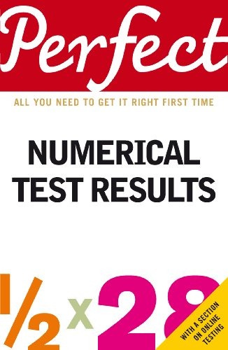 9781905211333: Perfect Numerical Test Results (Perfect series)