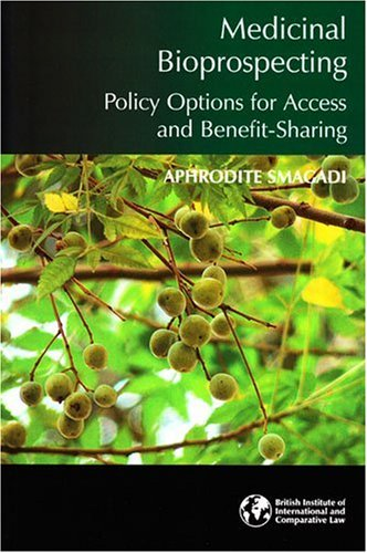 9781905221363: Medicinal Bioprospecting: Policy Options for Access and Benefit-Sharing