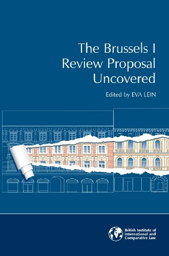 9781905221486: The Brussels I Review Proposal Uncovered