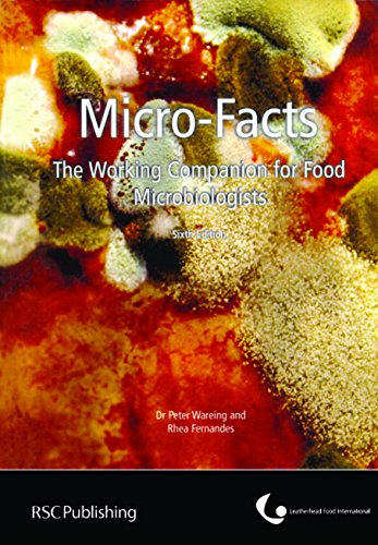 MICRO FACTS THE WORKING COMPANION FOR FOOD MICROBIOLOGISTS