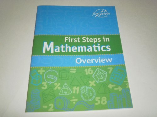 9781905232093: First Steps in Mathematics Overview (First Steps in Mathematics)