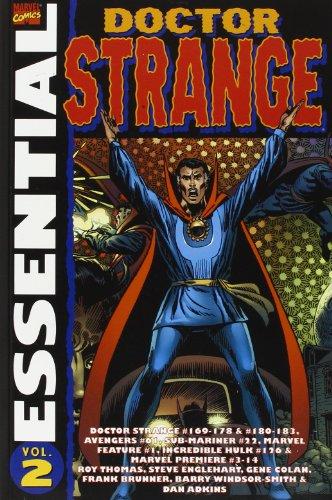 9781905239009: Essential Dr Strange: Volume 2: Doctor Strange #169-178 & 180-183, Avengers #61, Sub-Mariner #22, Marvel Feature #1, Incredible Hulk #126 and More: v. 2