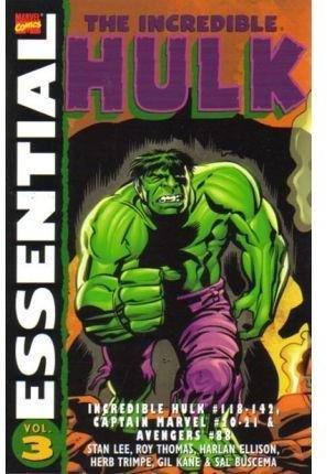 9781905239184: Essential Incredible Hulk Vol.3: Incredible Hulk #118-142, Captain Marvel #20-21 & Avengers #88: v. 3