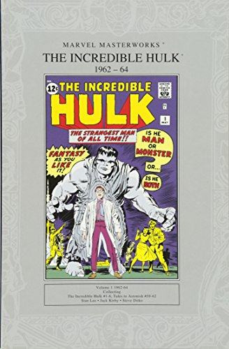9781905239894: Marvel Masterworks: The Incredible Hulk 1962-64