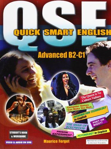 9781905248001: QSE Quick Smart English Advanced Pack