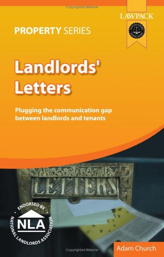 9781905261086: Landlords' Letters: Plugging the Communication Gap Between Landlords and Tenants