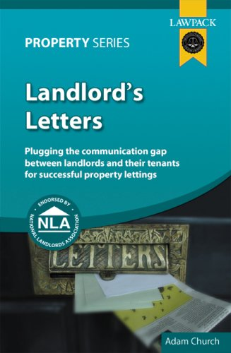 9781905261550: Landlord's Letters: Plugging the Communication Gap Between Landlords and Tenants for Successful Property Lettings