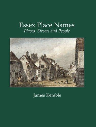 Essex Place Names: James Kemble