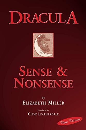 9781905328154: Dracula: Sense and Nonsense (Desert Island Dracula Library)