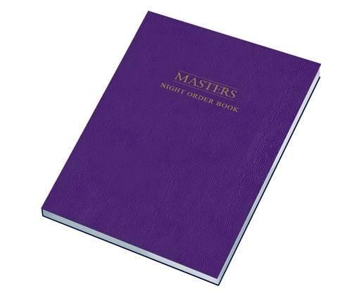 9781905331499: Masters Night Order Logbook (Log Books)