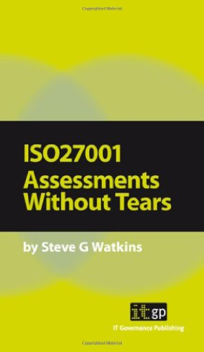 9781905356188: ISO 27001 Assessment Without Tears: A Pocket Guide (Pocket Guides: Practical Information Security)