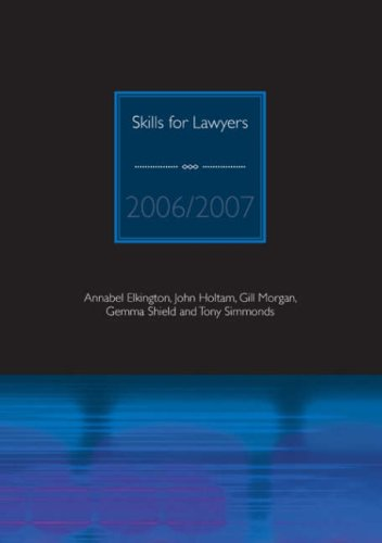 9781905391196: Skills for Lawyers