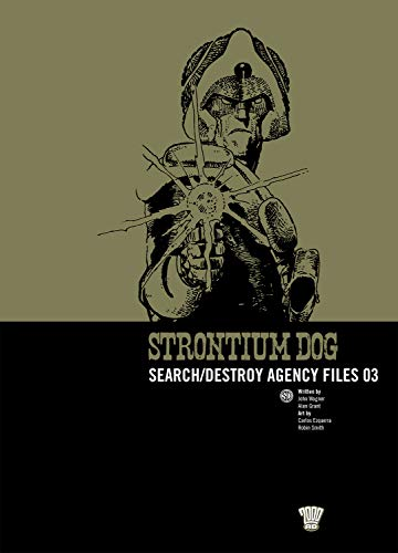 9781905437382: Strontium Dog: v. 3: Search/destroy Agency Files