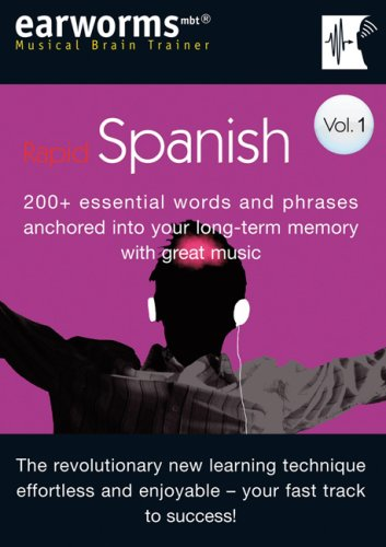 9781905443048: Rapid Spanish: v. 1: 200+ Essential Words and Phrases Anchored into Your Long Term Memory with Great Music (Musical Brain Trainer)