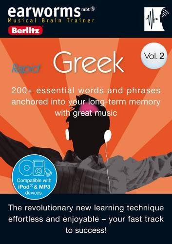 9781905443314: Berlitz Language: Rapid Greek v.2 (Berlitz Earworms) (Greek and English Edition)