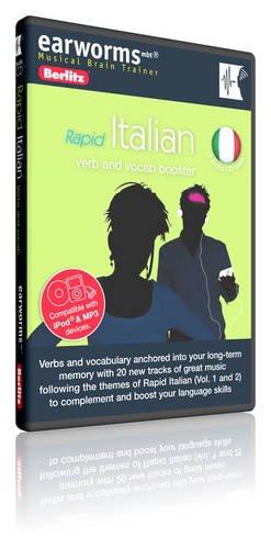 9781905443499: Berlitz earworms Rapid Italian (Verb and Vocab Booster)