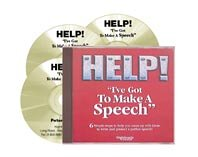 9781905453009: Help! I've Got to Make a Speech: Six Simple Steps to Help You Come Up with Ideas to Write and Present a Perfect Speech: v. 1 to v. 6 by Peter Thomson (Nightingale Conant): v. 1 to v. 6