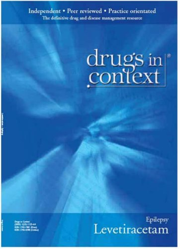 Levetiracetam (Drugs in Context) (9781905466146) by Charlotte Lawthom; Philip Smith; Henry Smithson