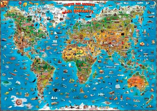 9781905502820: Carte du Monde pour enfants
