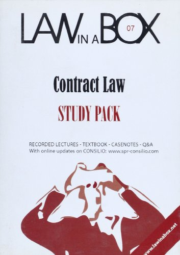 Contract Law in a Box: Study Pack