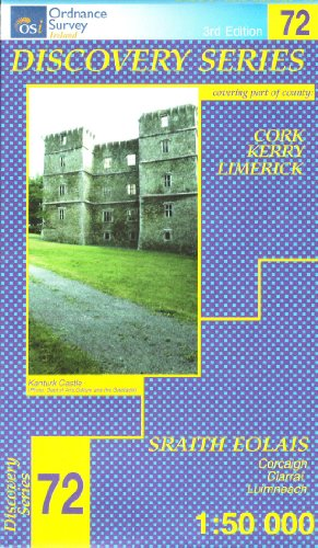 9781905511136: D72 Kerry, Cork, Limerick (Discovery Maps) (Irish Discovery Series)