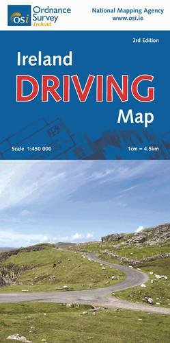 9781905511556: Ireland Driving Map (Irish Maps, Atlases and Guides)