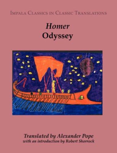 9781905530069: Odyssey (Impala Classics in Classic Translations)