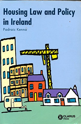 9781905536016: Housing Law and Policy in Ireland