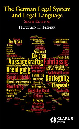 9781905536634: The German Legal System and Legal Language